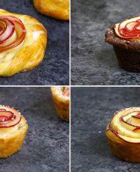 Apple Rose Desserts 4 Ways