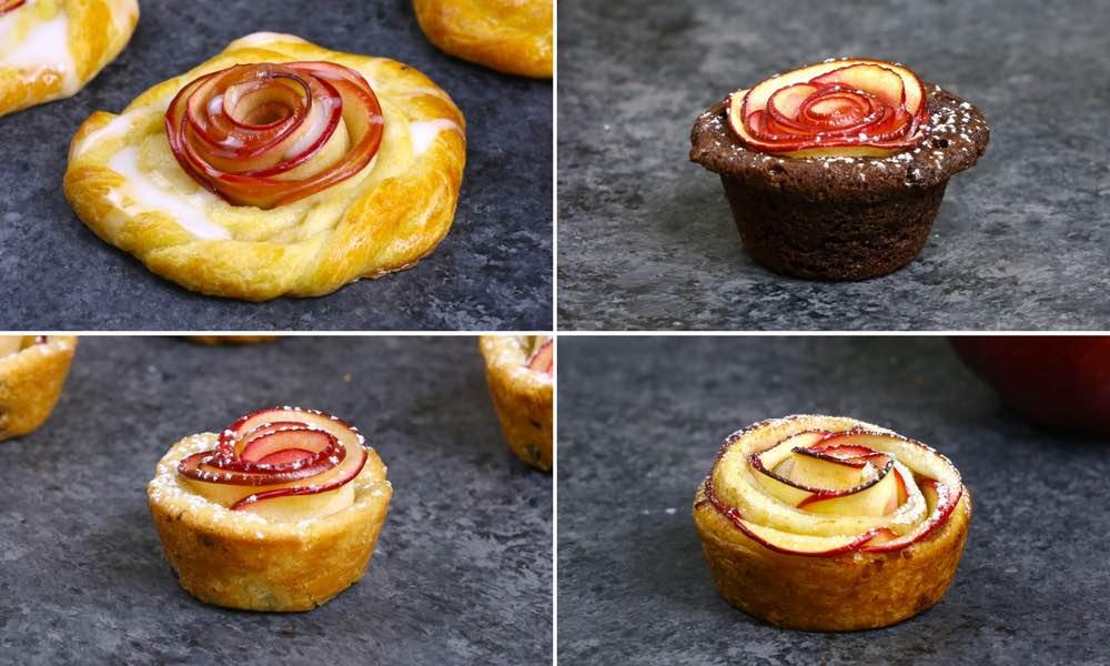 5 Fun Apple Rose Desserts