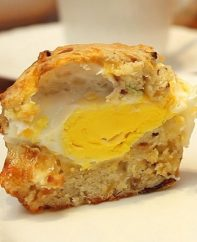 These Bacon Egg and Cheese Breakfast Muffins are a delicious way to start your day