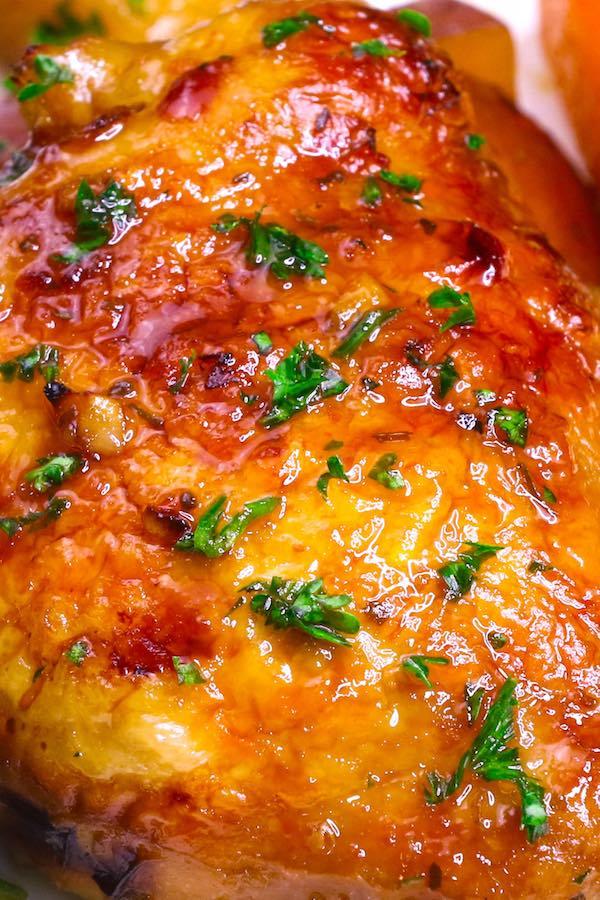 Baked Honey Garlic Chicken Recipe Tipbuzz