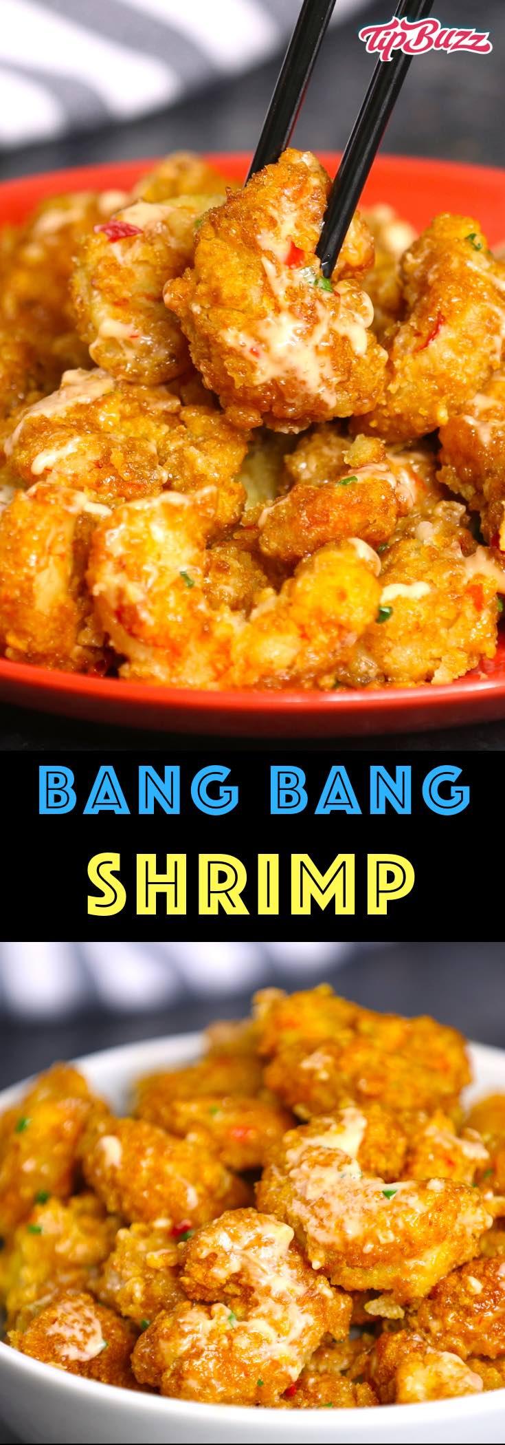 Bang Bang Shrimp is crispy and sizzling shrimp smothered in a creamy, sweet and spicy bang bang sauce. This easy recipe can rival the popular Bonefish Grill bang bang shrimp