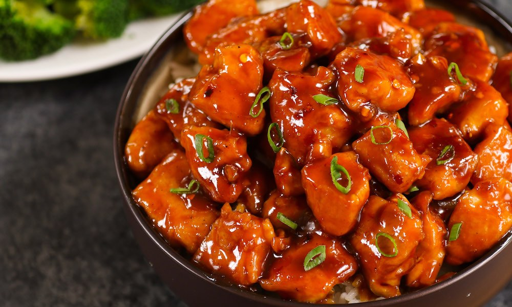 Easy 20 Minute Bourbon Chicken