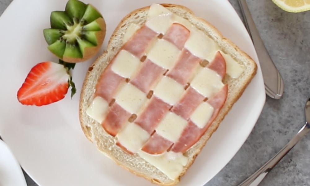 Braided Ham & Cheese