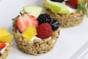 These Breakfast Granola Cups and easy to make