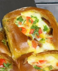 Omelet Breakfast Sliders are delicious and easy to make