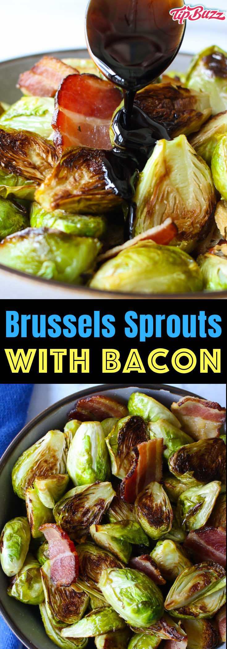 This Brussels Sprouts and Bacon recipe packs all the deliciousness of Brussels sprouts and bacon into a meal that's so easy to make!