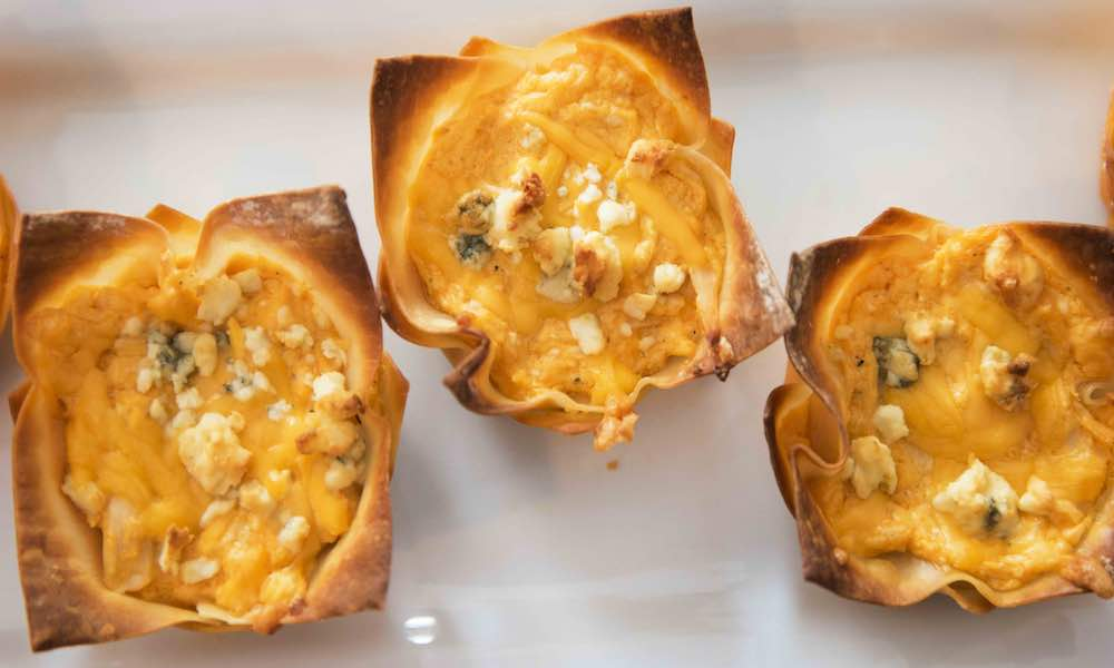 This Buffalo Chicken Cups recipe is easy to make and delicious