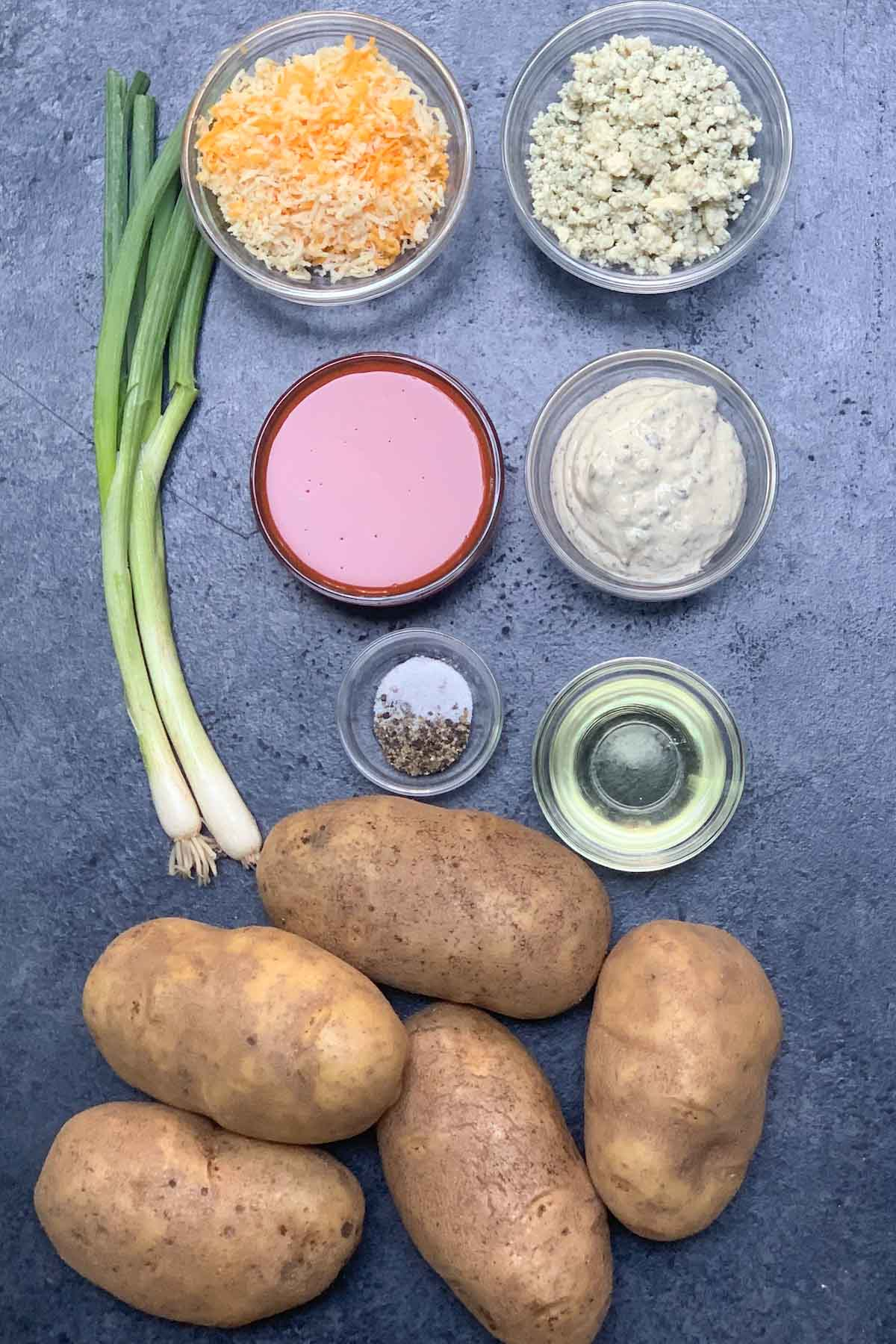 Ingredients for Buffalo Fries