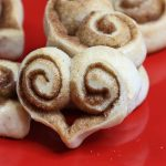 Cinnamon Roll Hearts are a fun treat to make