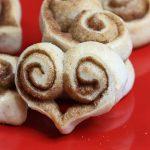 Cinnamon Roll Hearts are a fun treat to make