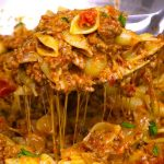One Pot Cheesy Taco Pasta – One of the easiest quick dinner recipes. It's loaded with ground beef and shredded cheddar cheese. So delicious. This simple and easy recipe comes together in 20 minutes. Quick and easy recipe. Video recipe.