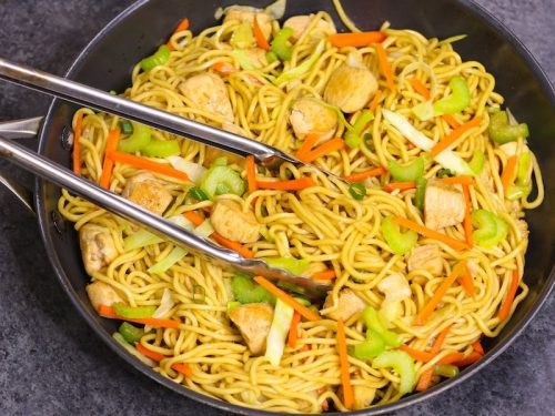 Easy chicken lo mein recipe tipbuzz forumfinder Images