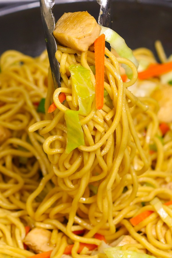 Easy chicken lo mein recipe tipbuzz chicken lo mein forumfinder Images