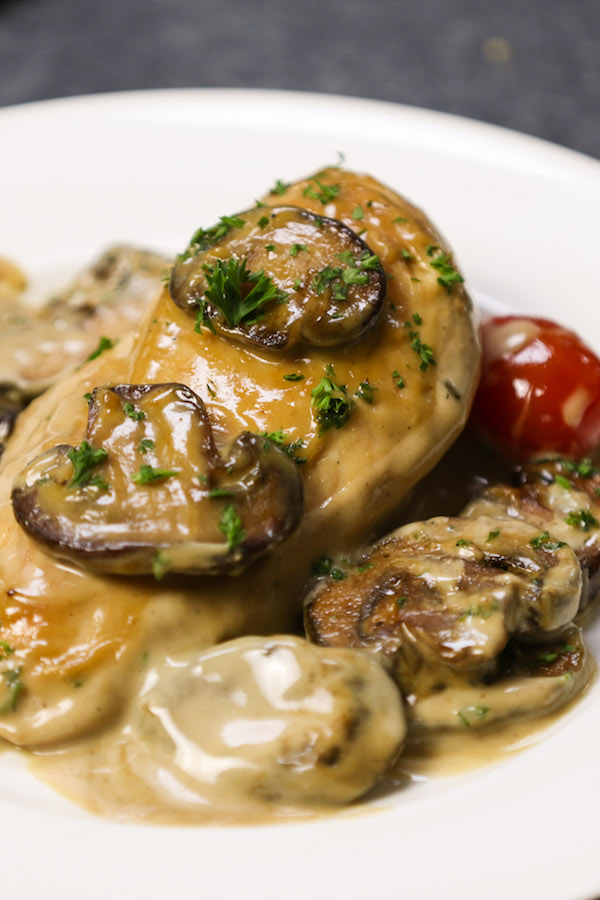 Creamy Chicken Marsala