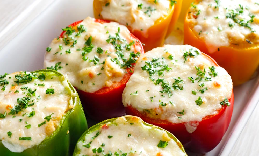 Holiday Stuffed Bell Peppers