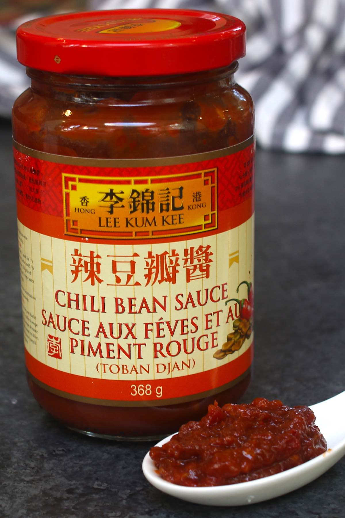 Chili bean paste: Spicy Doubanjiang
