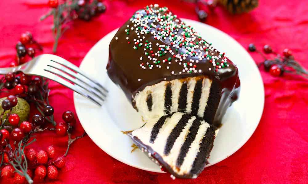 This Chocolate Icebox Cake is an easy holiday recipe