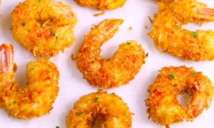 TheseCoconut Shrimp make an irresistible appetizer that's tender on the inside, and crispy, sweet and crunchy on the outside. They're mouthwateringly delicious and will be the first to go at a party! Plus recipe video tutorial!