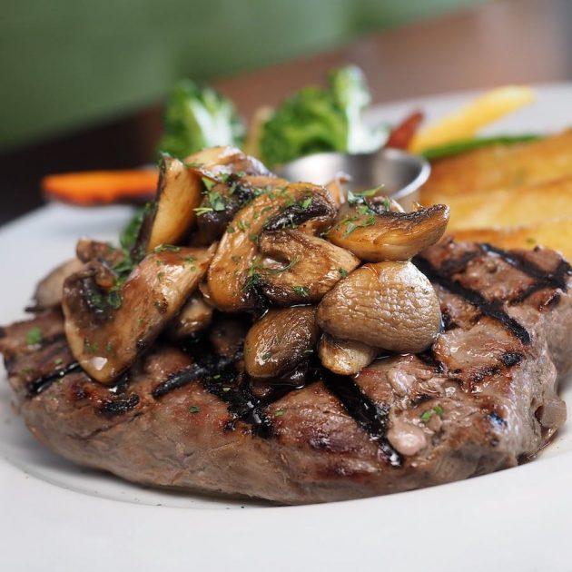 Cooked Tenderloin Steak