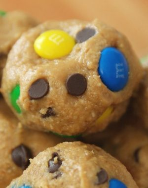 These Cookie Dough Energy Balls are a delicious on-the-go snack that's easy to make