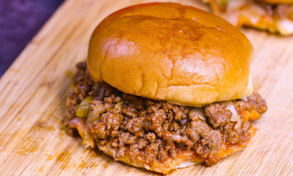 Crazy Delicious Party Sloppy Joes