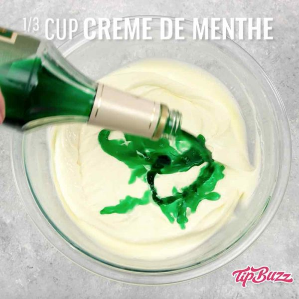 Creme de Menthe for St Patrick's Day Cupcakes