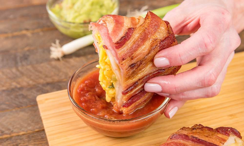 Bacon Covered Crunchwraps
