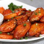 These 3 Ingredient Baked Wings are easy to make for game day