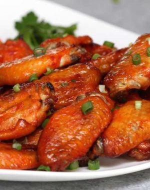 These 3 Ingredient Baked Chicken Wings are easy to make for game day