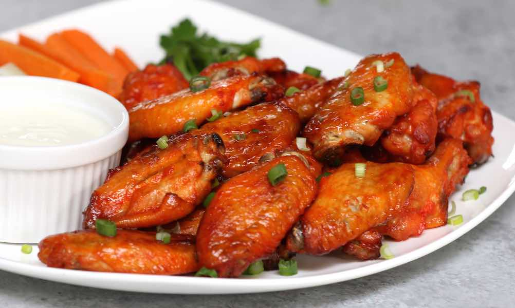 Easy 3 Ingredient Baked Wings