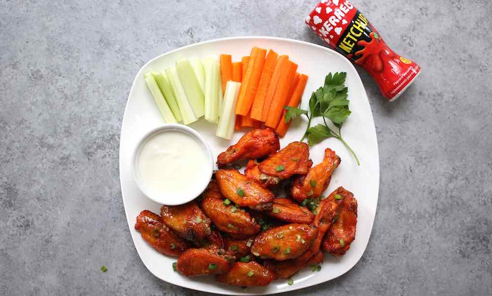 These Easy 3 Ingredient Baked Wings are perfect for Game Day