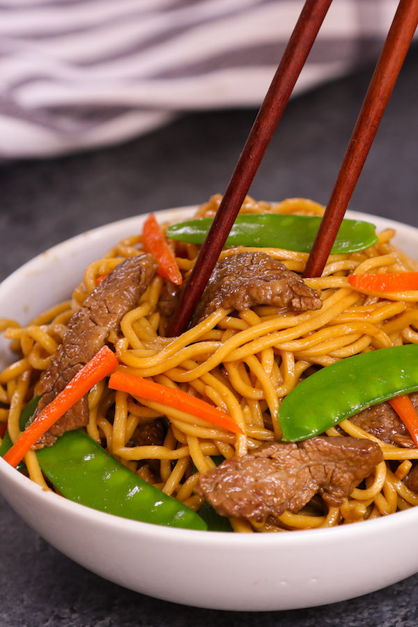 Easy Beef Chow Mein