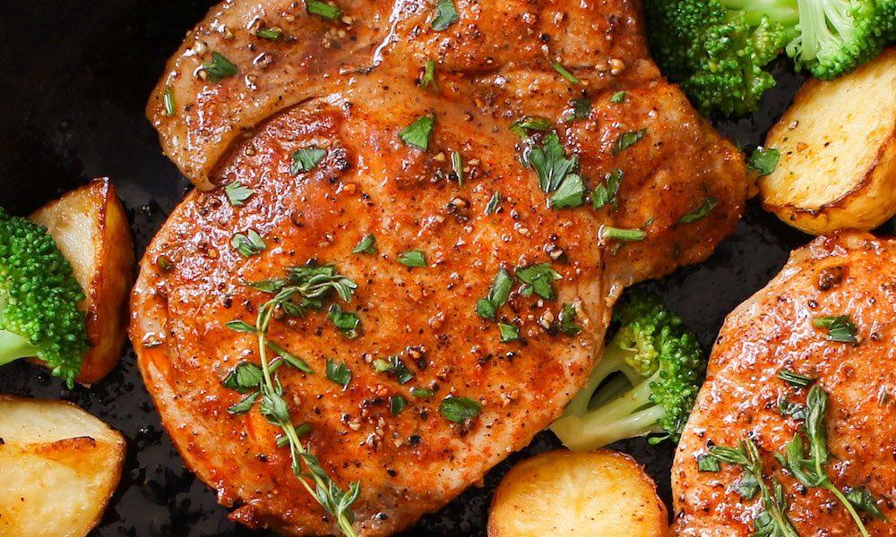 15 Minute Easy Boneless Pork Chops