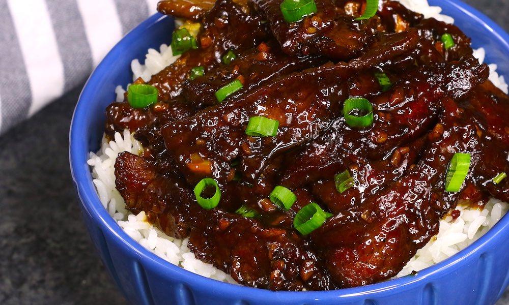 20 Minute Easy Mongolian Beef