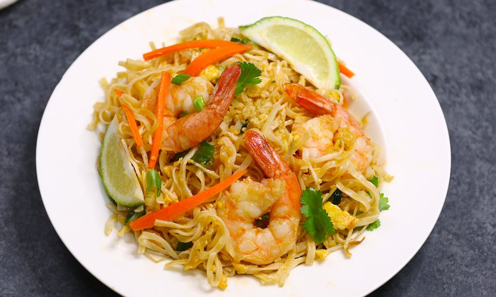 20 Minute Easy Shrimp Pad Thai