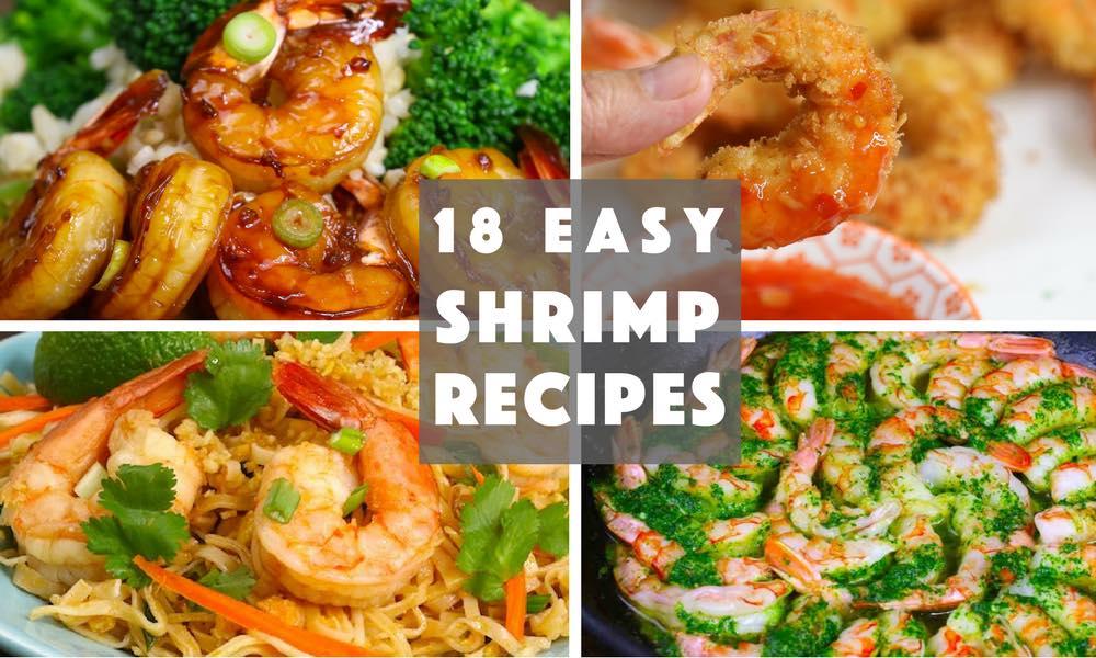 18 Easy Shrimp Recipes
