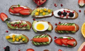 These Energy Breakfast Toasts are a great ay to start your day