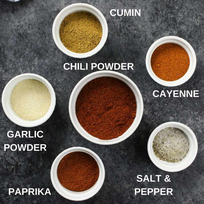 Fajita Seasoning ingredient descriptions