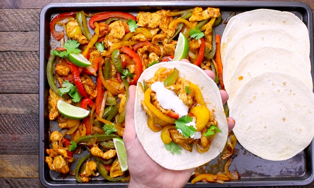 Sheet Pan Chicken Fajitas Recipe – TipBuzz