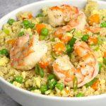 Shrimp Fried Cauliflower Rice