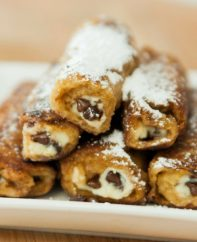 French Toast Cannoli Rollups are a fun and easy recipe that takes breakfast to a new level