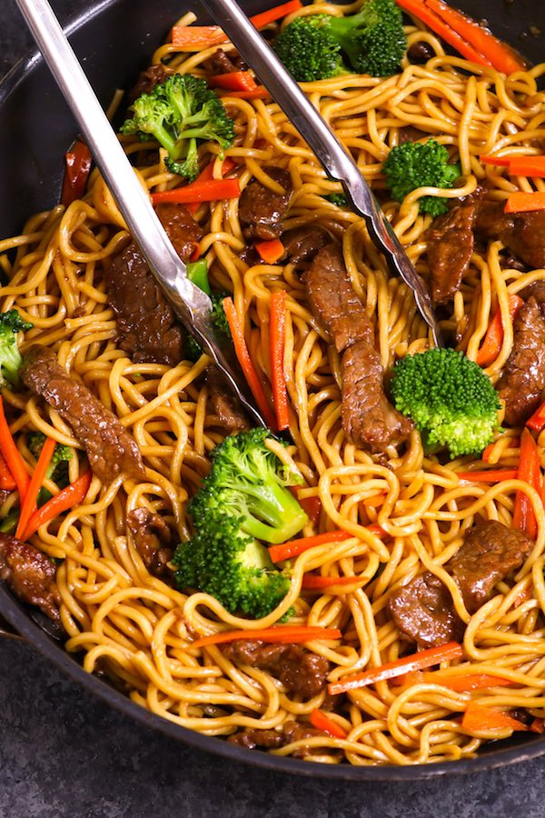 how to turn ramen into lo mein