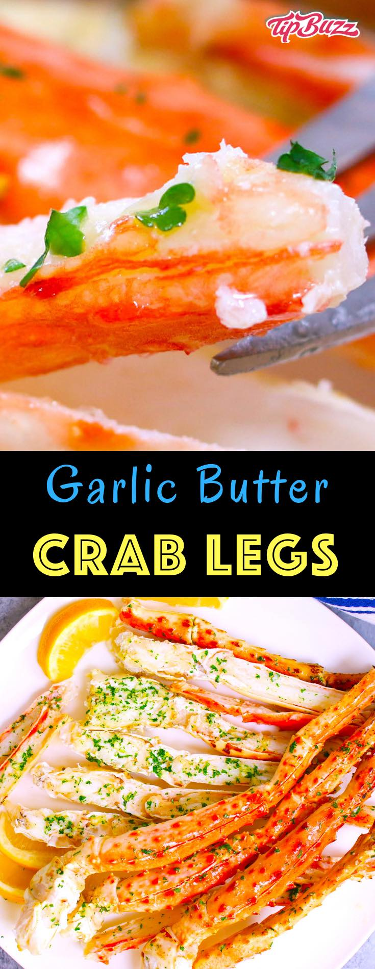 Garlic butter crab legs make a mouthwatering seafood feast that's ready in just 15 minutes. The perfect fancy meal for special occasions like birthdays, anniversaries, and more! Learn how to cook crab legs easily with confidence whether you're using snow crab legs or king crab legs!
