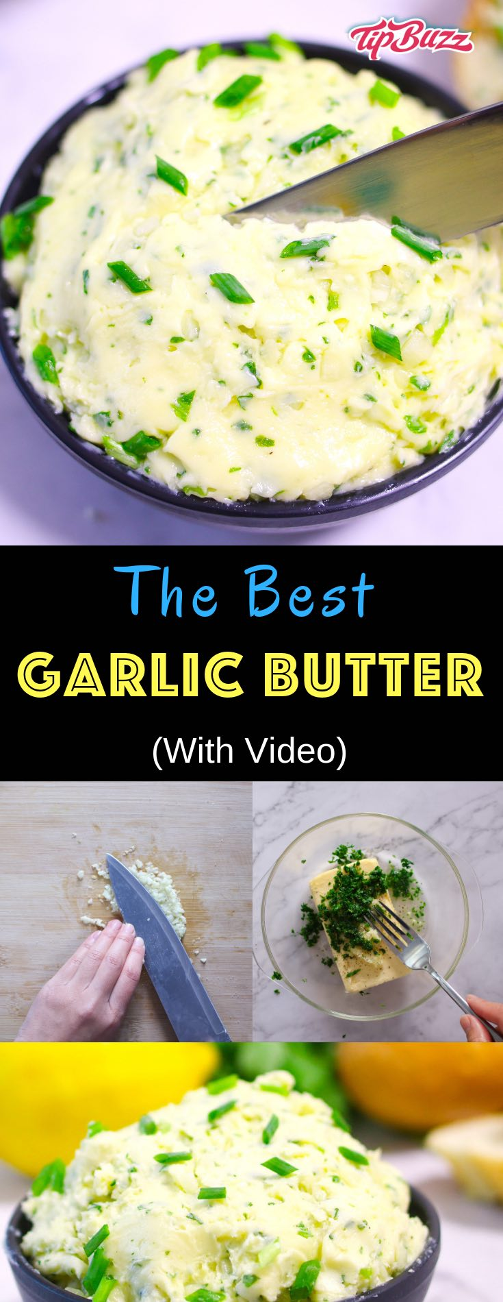 Garlic butter is a versatile kitchen staple with even the smallest amount adding so much flavor to a dish, whether meat, seafood, vegetables, mashed potatoes, pasta and more.