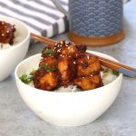 Slow Cooker General Tso Chicken is a delicious sweet and tangy recipe