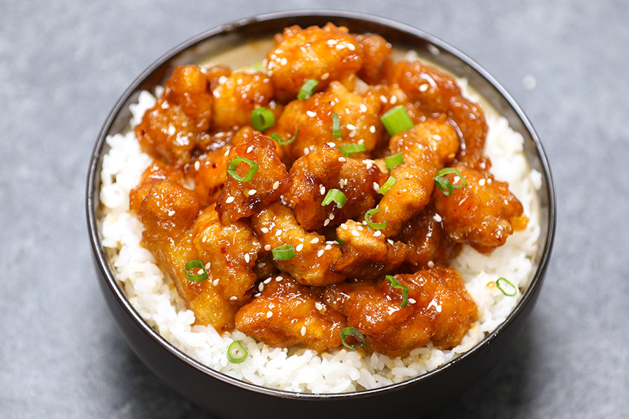 20 Minute General Tso's Chicken