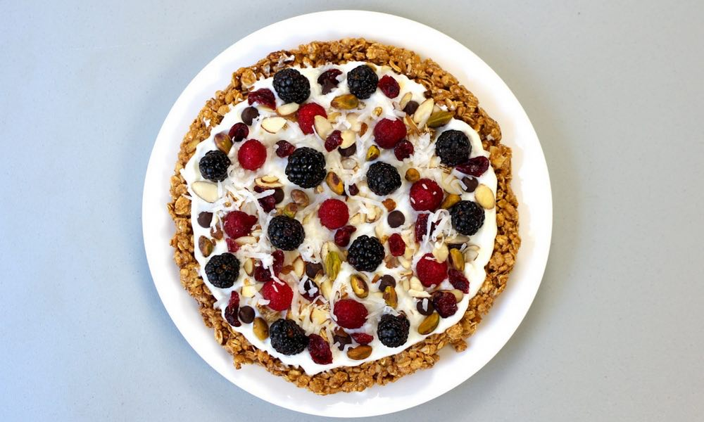 Granola Breakfast Pizza