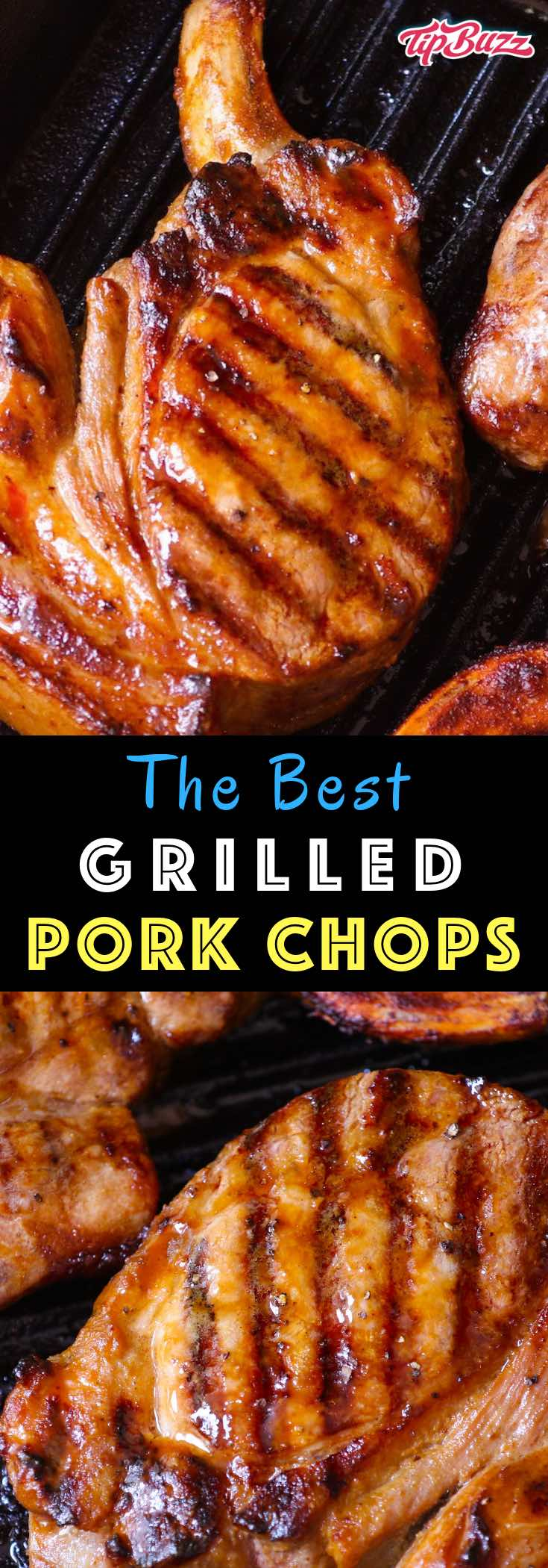 Grilled Pork Chopsare tender and moist marinated pork chops grilled to golden perfection. Cook on a hot barbecue for a fast meal ready in under 30 minutes.