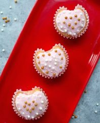 These Heart Shaped Cupcakes are a fun recipe for Valentines Day