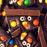 This Halloween Chocolate Bark is a fun and easy recipe to make for a Halloween party